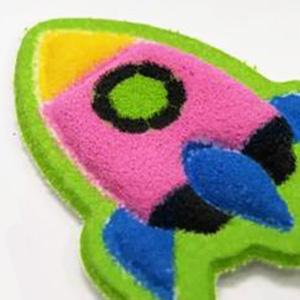 Soft Puffy Stickers - Felt