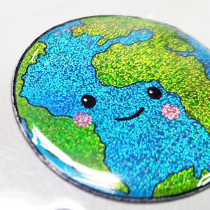 Puffy Stickers - Laser