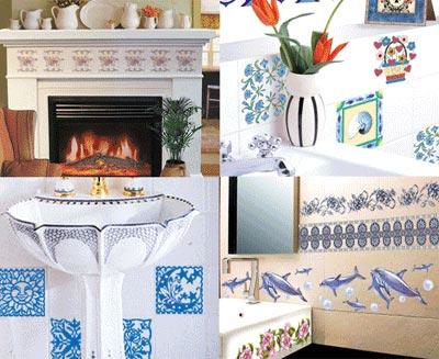 Transfer Tiles Decoration