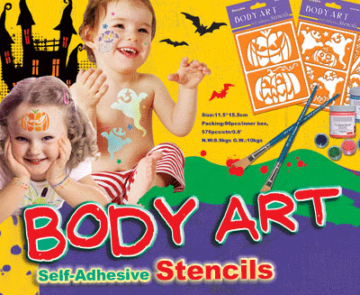 Body Art Stencil (H)