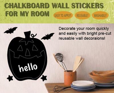Chalkboard Stickers (H)