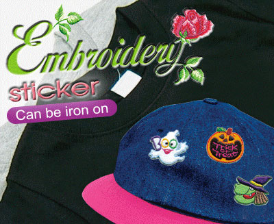 Embroidery Stickers (H)