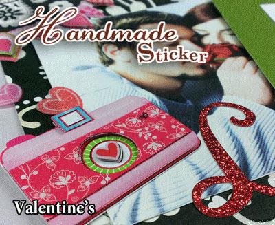 Handmade Stickers / Card making (V)