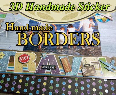 3D Handmade Borders