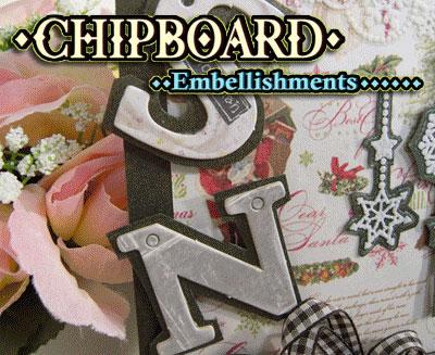Chipboard Alphabet