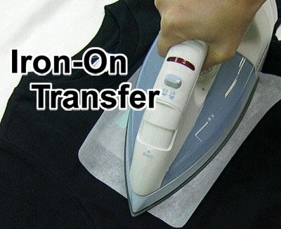 Glitter Iron-On