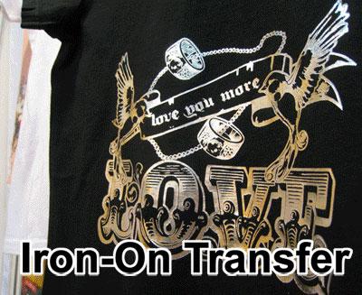 Metallic Iron-On