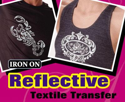 Reflective Iron-On
