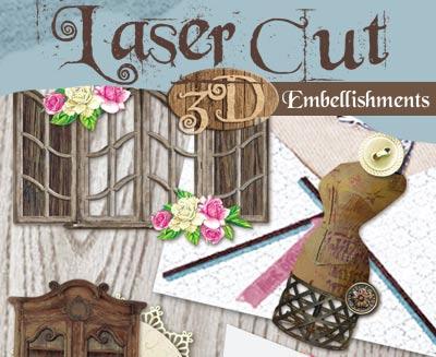 Laser Cut Embellishments