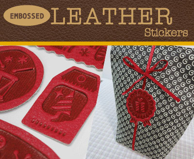Leather Stickers (X)