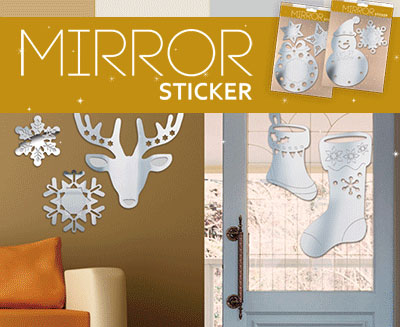 Mirror Stickers (X)
