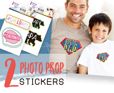 Photo Prop Stickers