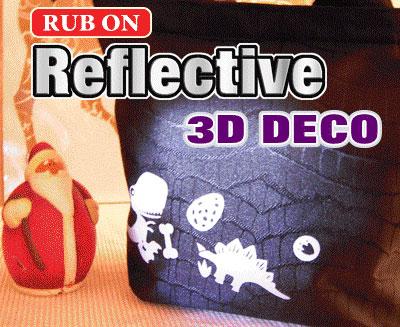 Reflective Rub-On